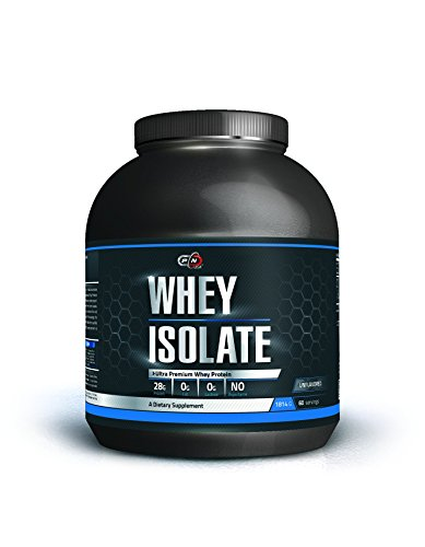 Pure Nutrition USA WHEY ISOLATE Powder Ultra Premium Whey Protein Molke Protein Isolat Pulver (Unflavored, 1814g) (Pure Pulver Nutrition Whey)