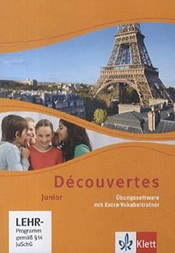Découvertes / Junior (ab Klasse 5): Découvertes / Übungssoftware Klasse 5 und 6: Junior (ab Klasse 5) / Einzellizenz