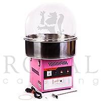 Royal Catering - RCZK-1200E - Máquina de algodón de azúcar - tapa amovible - 1200 W - Envío Gratuito de Royal Catering
