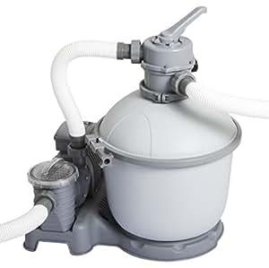 Bestway filtre sable piscine hors sol filtration 5 67 - Nettoyage filtre a sable piscine ...