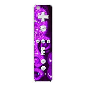 Disagu Design Skin für Nintendo Wii Controller – Motiv Lila Wave