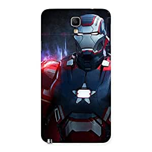 Bluish Redish Man Back Case Cover for Galaxy Note 3 Neo