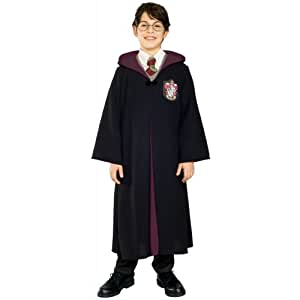 Harry PotterTM and Hermione GrangerTM Deluxe Gryffindor Robe - Kids Costume: 5 - 7 Years