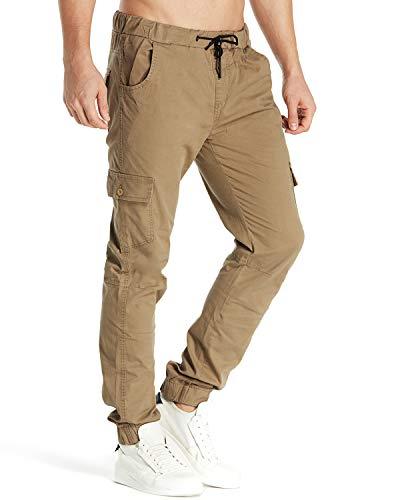 Cargo-hose Khaki (MODCHOK Herren Hosen Freizeithose Cargo Hosen Jogginghose Chino Hosen Sweatpants Regular Fit 3 Khaki XL)