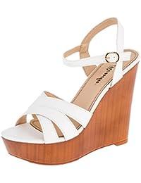 Suchergebnis auf Amazon.de für  Sandalen Holz - Sandalen   Damen ... 12efd9d6b9
