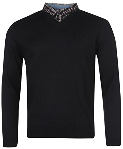 para-hombre-knitwear-mock-cuello-en-v-jumper-multicolor-navy-1-m