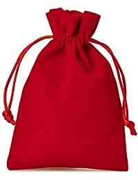 Samtsäckchen schwarz groß ca 20x15cm Samtbeutel Schmuckbeutel Geschenkbeutel