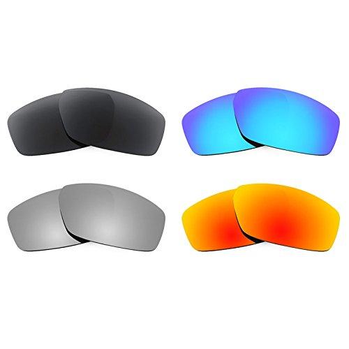 Revant Ersatzlinsen für Spy Optic Dirty Mo Polarisiert 4 Paar Kombipack K018