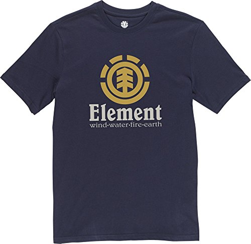 Element Vertical T-Shirt Navy