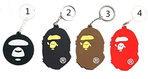 Goahead bape keychains|BAPE A BATHING APE Keychain