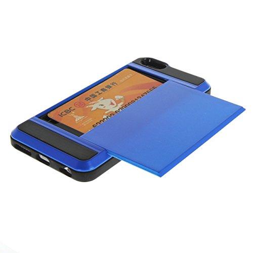 "MOONCASE Housse pour iPhone 6 / 6S (4.7"") Silicone Gel TPU Housse Coque Etui Case Cover Blanc Dark Bleu"