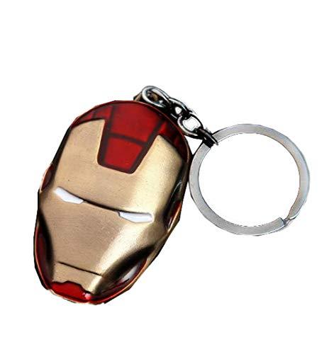 Nexthops Llavero Máscara Iron Man Mask Keychain Los