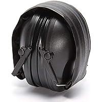 Ajustable Plegable Antirruido Cancelación de Ruido Tactical Shooting Headset Suave Orejeras para Caza Deportiva Militar
