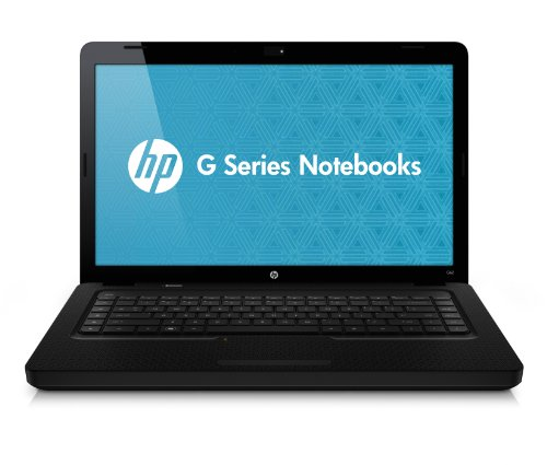 HP G62-b25SG  39,6 cm (15.6 Zoll) Laptop (Intel Core i5 460M, 2,5 GHz, 4 GB RAM, 640 GB HDD, ATI HD 5470 - DirectX 11, DVD, Win 7 HP) - Hewlett Packard Widescreen Webcam