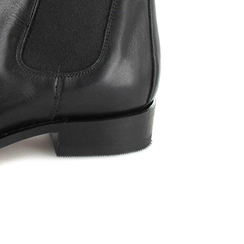 Sendra Boots 5595 Snowbut Marron Stiefelette für Damen und Herren Braun Chelsea Boot Schwarz