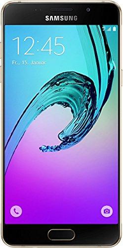 Samsung Galaxy A5 (2016) Smartphone (5,2 Zoll (13,22 cm) Touch-Display, 16 GB Speicher, Android 5.1) gold (Zertifiziert und Generalüberholt)