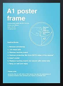 GB eye 59.4 x 84.1 cm A1 Black Frame 59.4x84.1 cm