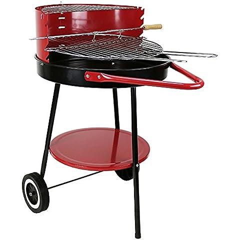 First4Spares webf4s126Barbecue, colore: rosso/nero