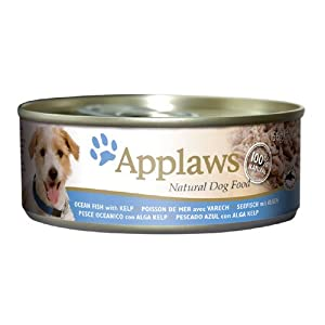 Applaws Dog Food Ocean Fish with Kelp 24 x 156g 3744g by Applaws