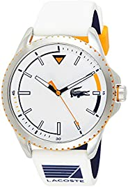 Lacoste Men's Quartz Watch, Analog Display and Rubber Strap 201
