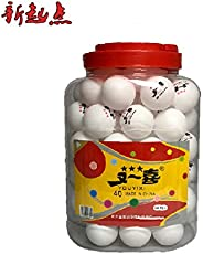 SHUANGYOU Table Tennis Balls 40mm Set of 60 pcs 1 JAAR
