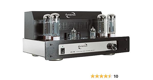 Dynavox Vr 70e Ii Röhrenvollverstärker Chrom Audio Hifi
