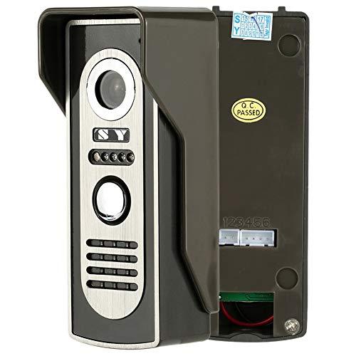 Wired Video Tür Telefon System Visuelle Gegensprechanlage Türklingel mit 1 * 800x480 Monitor + 1 * 700TVL Outdoor Kamera für Home Surveillance