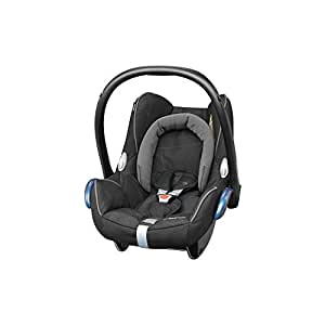 maxi cosi cabriofix babyschale gruppe 0 0 13 kg black diamond schwarz ohne isofix. Black Bedroom Furniture Sets. Home Design Ideas