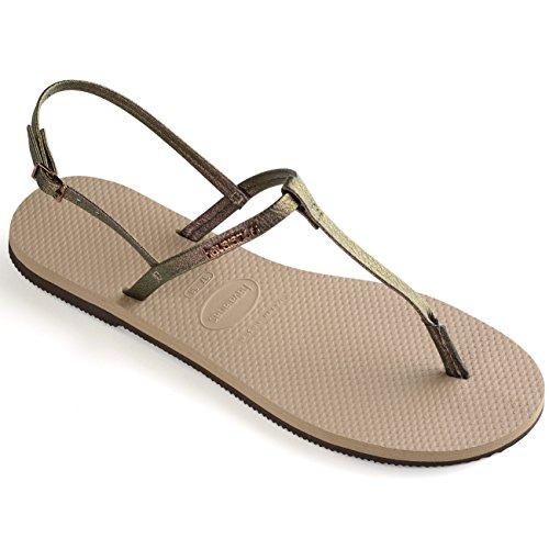 Havaianas You Riviera Sandals Women Rose Gold Schuhgröße EU 39/40 | Brazilian 37/38 2019 Sandalen