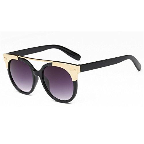 Z-P New Style Unisex Fashion Round Color Lens Anti-radiation UV400 Sunglasses 61MM