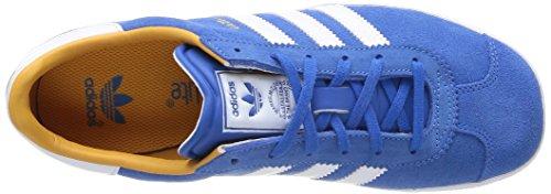 Adidas Originals Gazelle 2 J Unisex-Kinder Sneaker Blau (Bleu (Bleazu/Ftwbla/Ormeta))