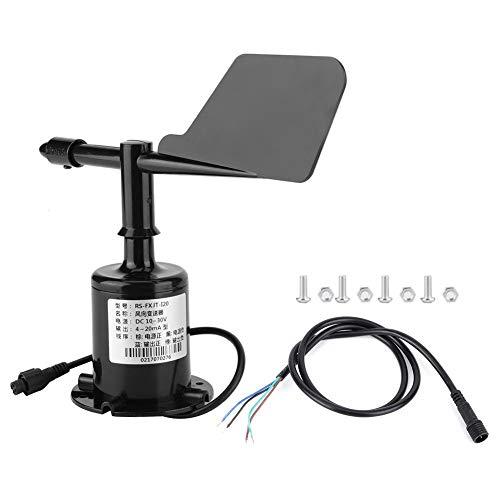 Boquite Sensor de Velocidad del Viento, 4-20 mA 8 indicaciones de indicación Herramienta de medición...