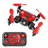 Foldable Mini Drone for Kids and Beginners,Pocket RC Nano Quadcopter with Altitude Hold,Headless