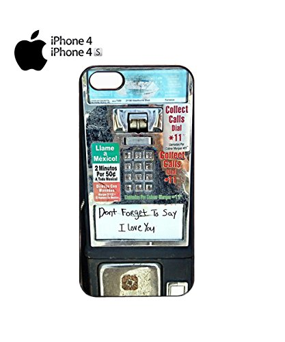 Don't Forget To Say I Love You Phone Box London Mobile Phone Case Cover iPhone 6 Plus + White Noir