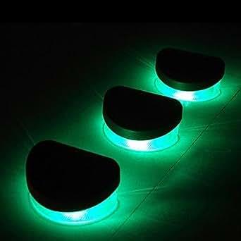 go eclairage solaire led 0 5 w solaire batterie vert etanche rechargeable amazon. Black Bedroom Furniture Sets. Home Design Ideas