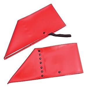 Bristol Novedad BA621 Spats Rojo, Hombre, Talla Única