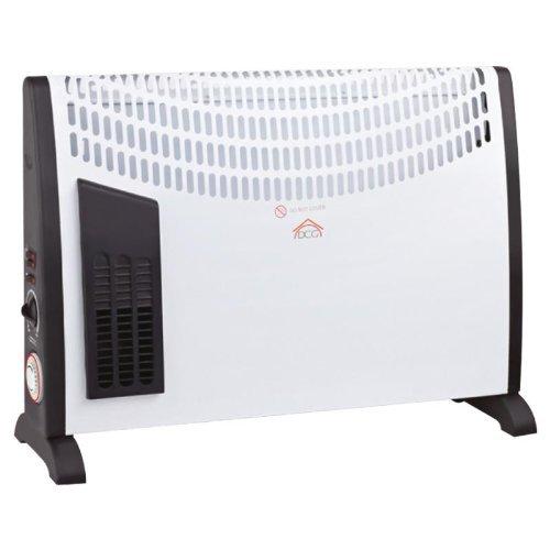 DCG tt3ott Notebook Konvektor mit Turbo Funktion, Timer und Thermostat–Maße 64x 43x 16cm