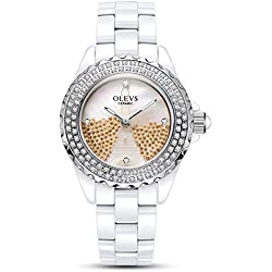 Lady ceramic/French romantic watches/Simple casual watches-D