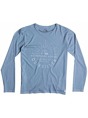 Herren Langarmshirt Quiksilver Rising Sunse T-Shirt LS Flint Stone