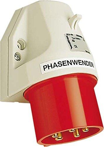 Walther Werke Phasenwender G-Stecker 630PHNI 32A 5P 400V 6h IP44 CEE-Gerätestecker 4015609251308