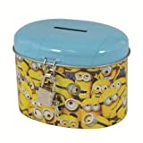 Minion Money Box Tin - Despicable me by ToyCenter