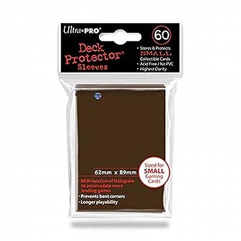 Ultra Pro 84028 - Deck Schutz Small Sleeves 60, braun