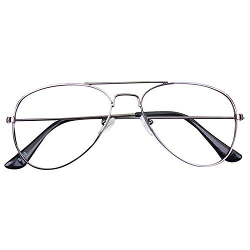 Juleya Baby Aviator Gläser Rahmen - Kinder Brillen Geek/Nerd Retro Reading Eyewear Keine Objektive für Mädchen Jungen