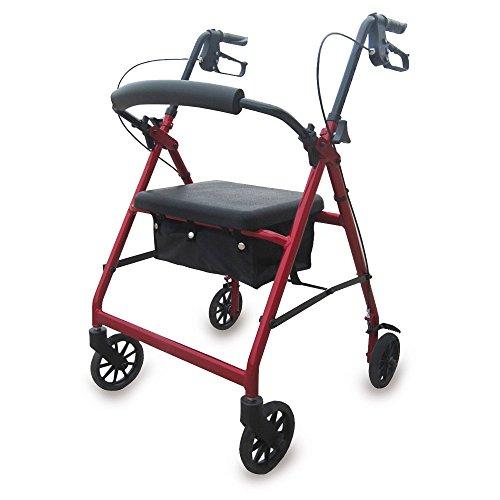 Andador rollator para ancianos plegable