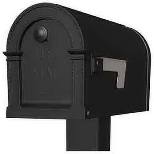Solar Group Pm000b01 Lincoln T1 Noir Boîte à lettres