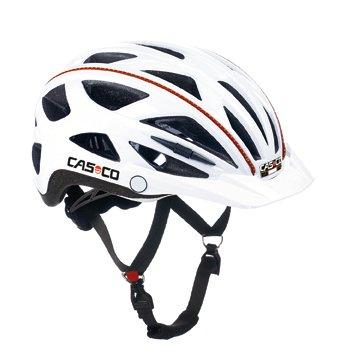 CASCO Active-TC weiß Life Reflektor Fahrradhelm Helm Bike Cityhelm Trekking City, 17.04.0817, Größe S/M 52 - 58 cm