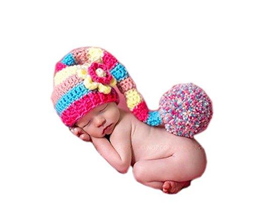 fie Prop Crochet gestrickt Kostüm Flower langem Schwanz Hat von XSelector ()