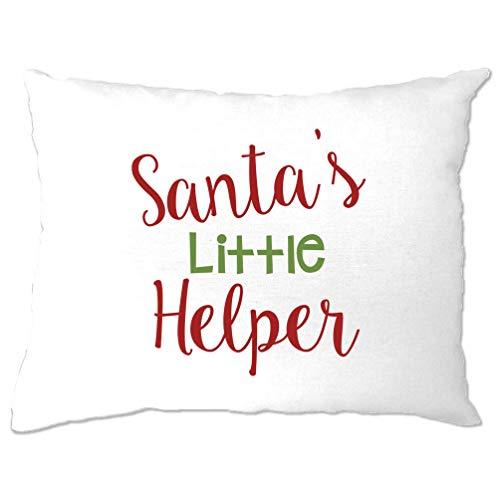 Tim And Ted Weihnachten Kissenbezug Sankt Kleiner Helfer Slogan White One Size -