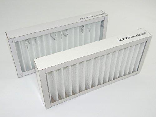 ine mit Kartonrahmen circa 410 x 160 x 46 mm G4 Filterzelle Filterkassette Vorfilter Filter für versch. Wärmerückgewinnungsanlagen WRG RLT Filterkassette Ersatzfilter (Kartonrahmen)