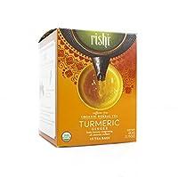 Rishi Tea Organic Turmeric Ginger Tea Bags, 15 Count (Pack of 6)